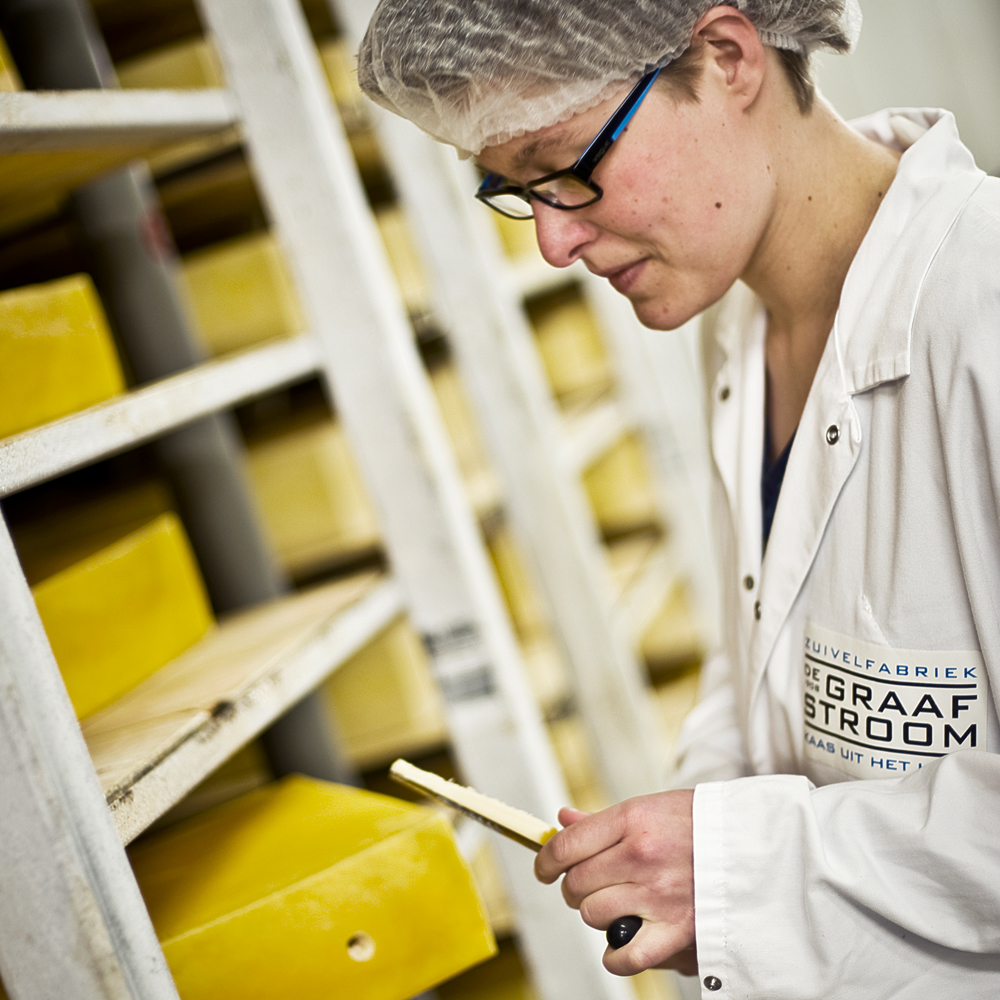 De unieke smaak van Goudse kaas wordt zorgvuldig bewaakt