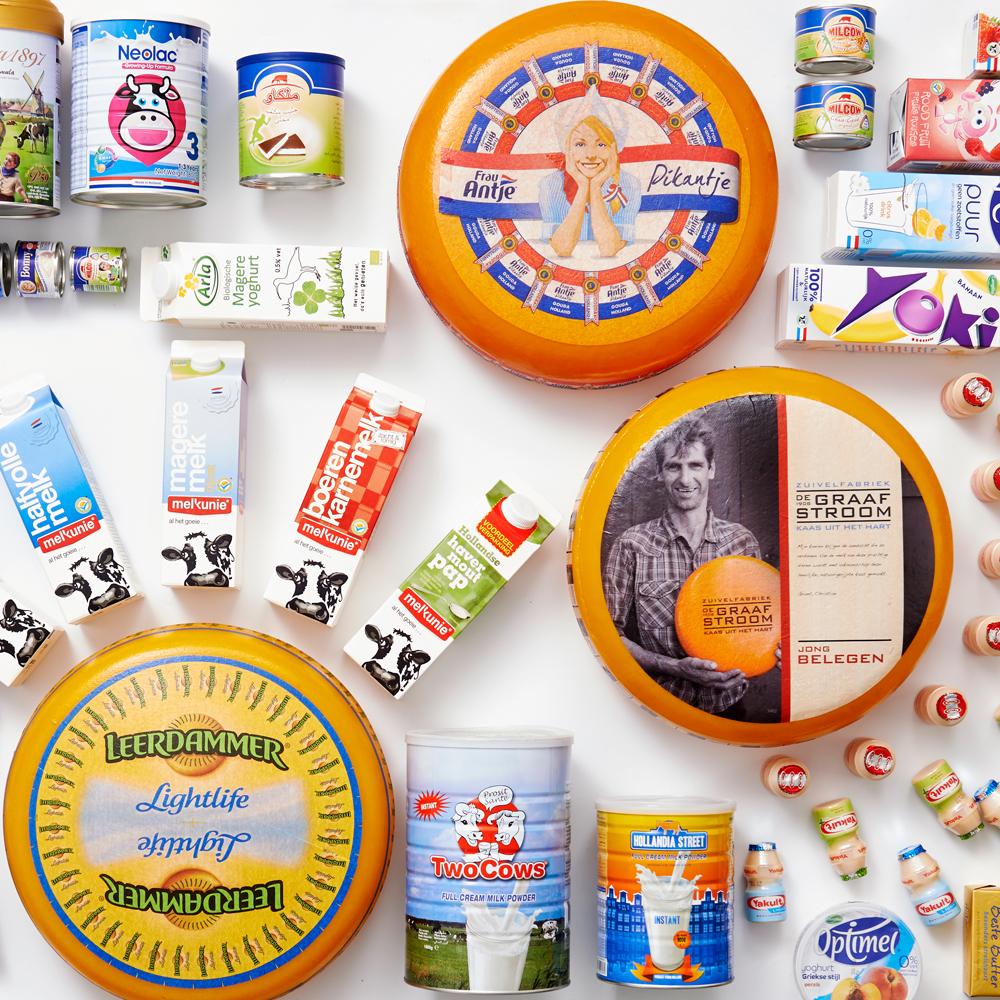 De zuivelsector zorgt voor een divers aanbod van producten