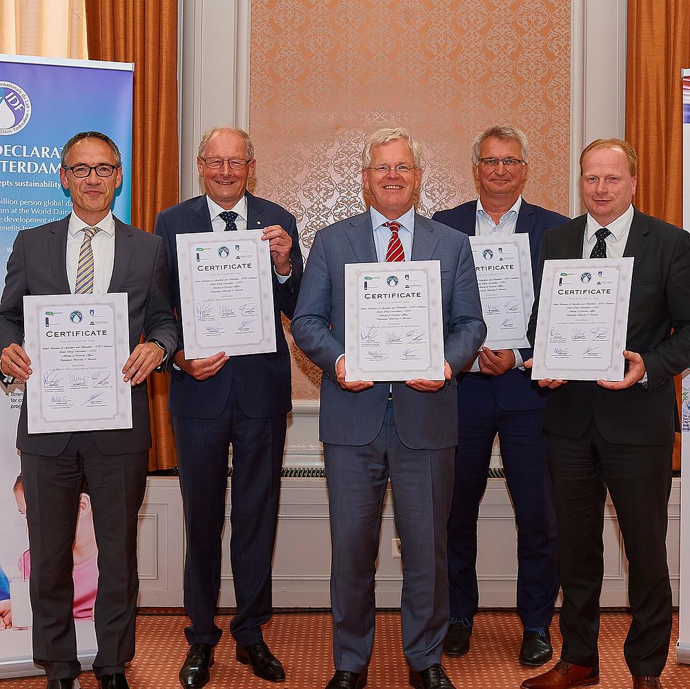 Nederland onderschrijft de Dairy Declaration van Rotterdam