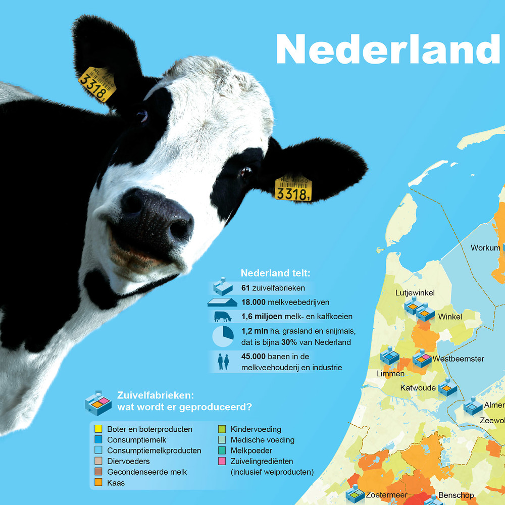 Nederland is een zuivelland